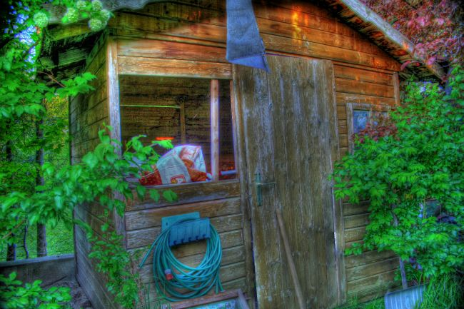 Shack again - HDR 1