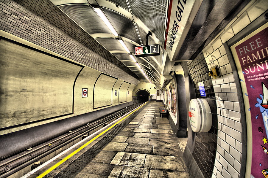 Lancaster Gate Tube station
